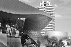 BMW building Stock Photo