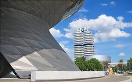 BMW building museum Stock Photos