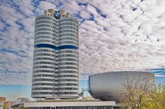 BMW building museum Royalty Free Stock Photo