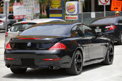 BMW 2015 cabriolet för 6 serie Arkivfoto