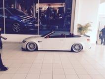 bmw-cabriolet m3 royaltyfria bilder