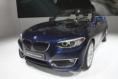 BMW cabriolet motor car Stock Photos
