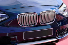 BMW Car. View of BMW car front Royalty Free Stock Photos