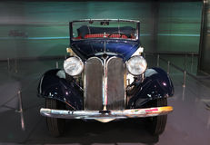BMW Car. View of Old BMW car front light Stock Image