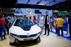 BMW car on display Stock Images