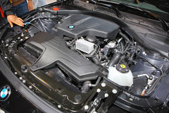 BMW car engine Stock Images