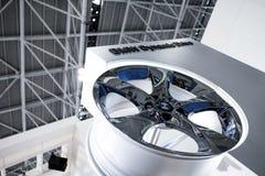 The bmw car wheel hub Stock Photos