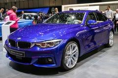 BMW carro do Gran Coupe de 4 séries fotos de stock