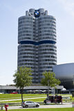 BMW Central offices. The central offices of BMW in Munich Royalty Free Stock Images