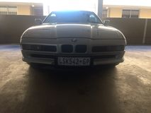BMW 850ci stockbild