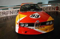 BMW classic sport cars. BMW classic sport car on display on BMW main exhibition center on September 24 , 2011 in Munich, Germany Royalty Free Stock Photo