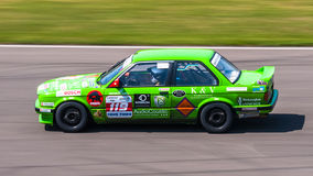 BMW coche de competición de 3 series Fotos de archivo libres de regalías