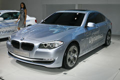 BMW Concept 5 Series Active Hybrid. BMW Concept 5 Series ActiveHybrid at the Moscow International Automobile Salon (MIAS-2010) August 25 - September 5 Stock Image