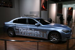 BMW CONCEPT 7 HYBRID DRIVE Stock Images