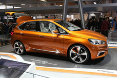 BMW Concept Active Tourer Outdoor Stock Image