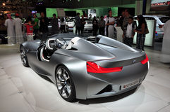 BMW Concept Coupe, VISION. Dubai Motor Show 2011 royalty free stock images