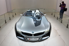 BMW Concept Coupe, VISION. Elegant BMW Concept coupe: VISION royalty free stock photos