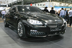 BMW Concept Gran Coupe. At the Moscow International Automobile Salon (MIAS-2010) August 25 - September 5 Stock Photography