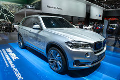 BMW Concept X5 eDrive - world premiere Stock Photo