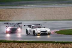 BMW contro audi Fotografia Stock Libera da Diritti