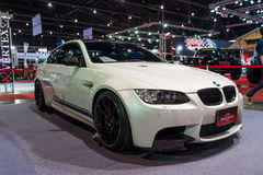 BMW coupe on display Royalty Free Stock Photography