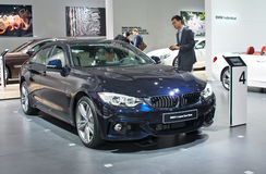 BMW Coupe Gran 4 серий Стоковое фото RF