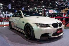 BMW coupe na pokazie Fotografia Royalty Free