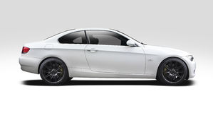 BMW coupe serie 3 Obrazy Stock