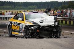 BMW crash Royalty Free Stock Photography