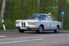 1966 BMW 2000 CS at the ADAC Wurttemberg Historic Rallye 2013 Royalty Free Stock Photography