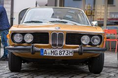 BMW 3.0 CS oldtimer car Royalty Free Stock Images