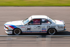 BMW 635 CSi赛车 免版税库存图片