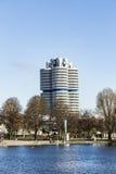 BMW czterocylindrowy wierza w Monachium Obraz Stock