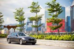 BMW 320d轿车2013年 库存照片