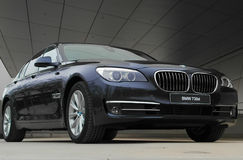 BMW 730d Obrazy Royalty Free