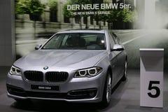 BMW 5系列520d 库存图片