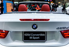 BMW 420d Convertible M Sport Royalty Free Stock Photography