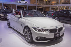 BMW 420d Convertible Sport Royalty Free Stock Photos