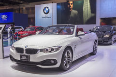 BMW 420d Convertible Sport Royalty Free Stock Photo