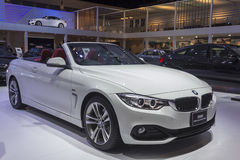 BMW 420d Convertible Sport Car Royalty Free Stock Photography