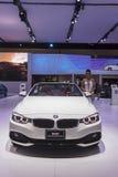 BMW 420d  Convertible Sport car Royalty Free Stock Photo