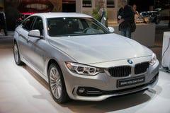 BMW 420d Gran Coupe car Royalty Free Stock Photo