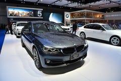 BMW 320d GT炫耀 免版税库存照片