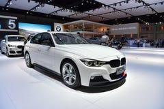 BMW 320d M表现 免版税库存照片