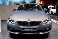 BMW 330d xDrive游览车 免版税库存照片