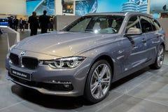 BMW 330d xDrive游览车 库存图片