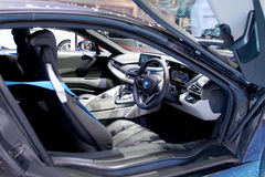 BMW-de auto van de reeksi8 innovatie Stock Afbeeldingen