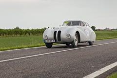 BMW 328 in der Sammlung Mille Miglia 2013 Lizenzfreie Stockfotografie