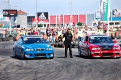 BMW desafio de 3 séries imagem de stock