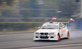 BMW di spostamento Fotografia Stock